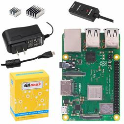 CanaKit Raspberry Pi 3 B+  2.5A Power Supply Wireless Quad-C