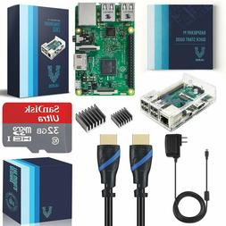 Vilros Raspberry Pi 3 Complete Starter Kit With Clear Case A