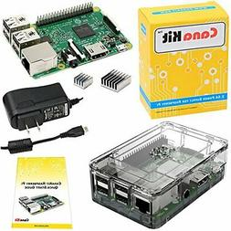 CanaKit Raspberry Pi 3 Kit with Premium Clear Case and 2.5A