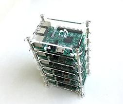 GeauxRobot Raspberry Pi 3 Model B 6-layer Dog Bone Stack Cle