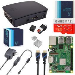 V-Kits Raspberry Pi 3 Model B+  Complete Starter Kit with Of