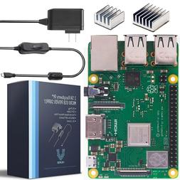 Vilros Raspberry Pi 3 Model B+ -with 2.5A Power Supply