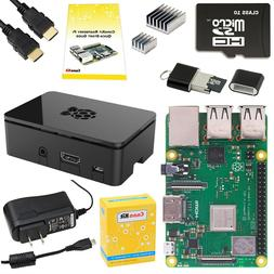 CANAKIT RASPBERRY Pi 3 Model B+ Starter Kit - 32 GB - option