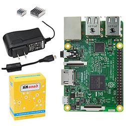 CanaKit Raspberry Pi 3 with 2.5A Micro USB Power Supply UL L