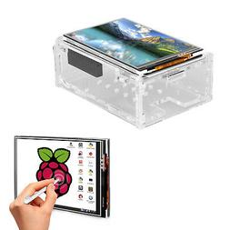 For Raspberry Pi 4 3.5'' Touch Screen TFT LCD Display with C