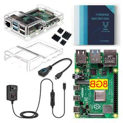 Vilros Raspberry Pi 4 Basic Kit with Case