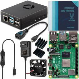 Vilros Raspberry Pi 4 Basic Starter Kit with Fan-Cooled Heav