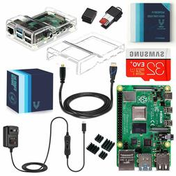 Vilros Raspberry Pi 4 Complete Starter Kit with Dual Cover C