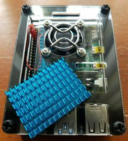 Raspberry Pi 4 Heatsink - Rpi4 Heat Sink Pimoroni Cooler 40m