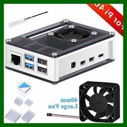 Raspberry Pi 4 Model B Case W Fan Heatsink For FREE SHIPPING