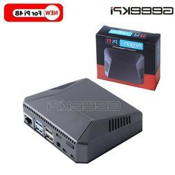 For Raspberry Pi 4B Argon One Mini Computer Black Aluminum A