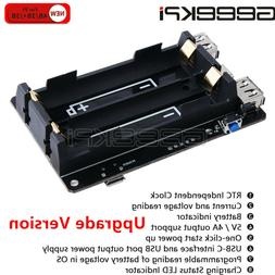 Raspberry Pi 4B  UPS with RTC Uninterruptible Power Supply 1