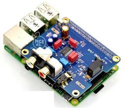 Raspberry pi B+ 2/3B HIFI DAC + Sound Card Digital Audio I2S
