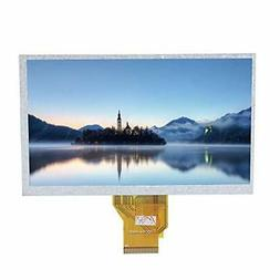 ASHATA for Raspberry Pi Touch Screen,7in Resistive Touch Scr