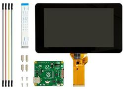 """Raspberry Pi Element 14 7"""" Official Pi Touchscreen LCD Displ"""