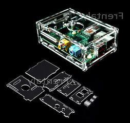 Raspberry PI Transparent Acrylic Case Enclosure Computer Box