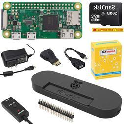 Canakit Raspberry Pi Zero W  Complete Starter Kit With Premi