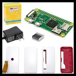 Canakit Raspberry Pi Zero W Wireless Official Case & Power S