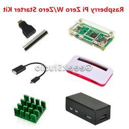 Raspberry Pi Zero W /Zero Starter Kit Accessories with HDMI