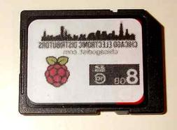 RASPBERRY Pi Raspbian Wheezy on 8GB Class 10 SanDisk SDHC SD