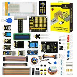 Keyestudio Relay HC-SR04 RC522 RFID Module Starter Kit for R