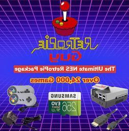 RetroPie Guy Retro Ultimate 256GB Package - Raspberry Pi 4 C