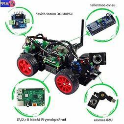 SunFounder Smart Video Car Kit Raspberry Pi DIY Robot Kit fo