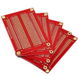 Gikfun Solder-able Breadboard Gold Plated Finish Proto Board