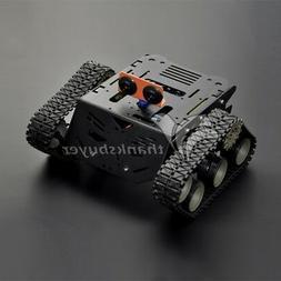 Unassembled DFRobot Arduino Smart Car Robot Devastator Tank