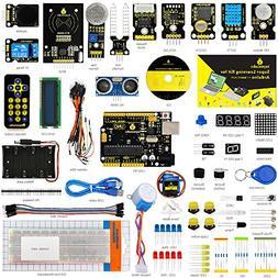 KEYESTUDIO Hardware Kit for Arduino Starter, UNO R3 Kit with
