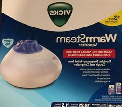 Vicks Warm Steam Vaporizer. BRAND NEW Perfect For the Upcomi