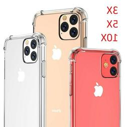 Wholesale Lot Shockproof Clear Case For iPhone 11 Pro Max