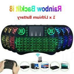 Wireless Mini Keyboard Rii i8 Air Mouse Keypad Remote Contro