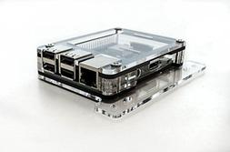 Zebra VESA Arm Mounting Plate Clear - for Raspberry Pi 3B+,